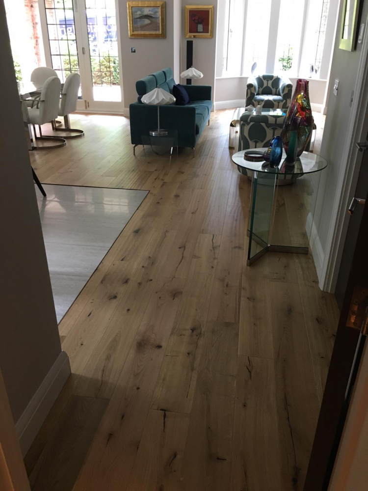 Woodpecker Berkeley, Design Natural Oak 35-BON-004 throughout supplied and Installed by Arighi Bianchi