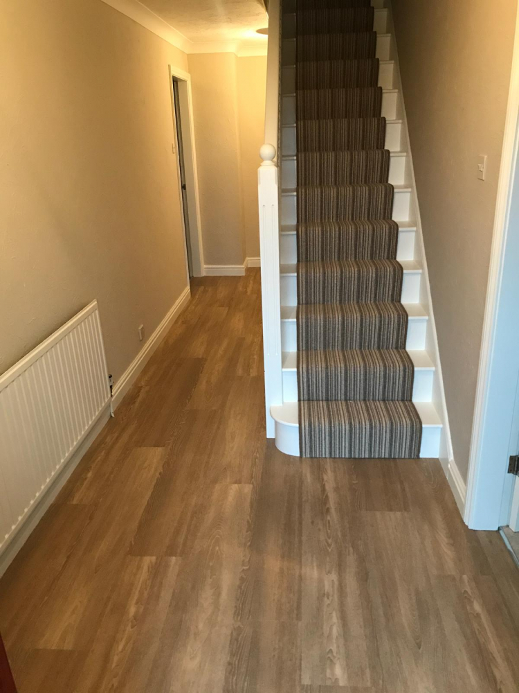 Mississippi Stripe SandWillow and Karndean Opus Nivieus supplied and installed by Arighi Bainchi