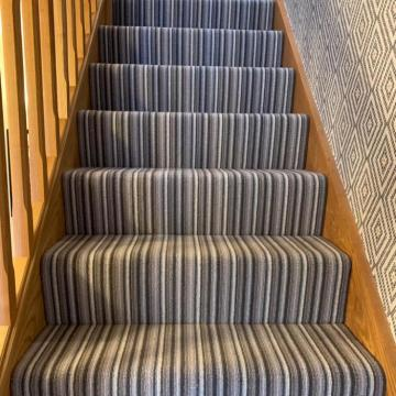 Crucial Trading Mississippi stripe Khaki/Cream  suppled and installed by Justin2carpets&rugs Worcester