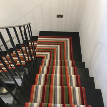 Como stripe runner to staircases by Millers 1893_Scotland