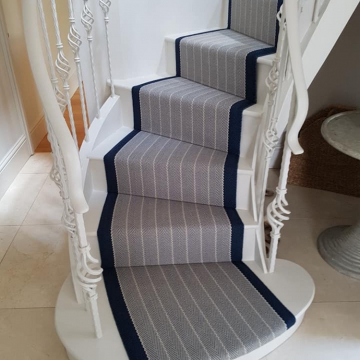 Roger Oates Dart Midnight supplied and installed by Sunniva Carpeting Tunbridge Wells