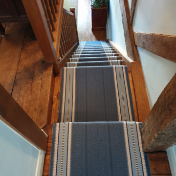Roger Oates Westport Indigo supplied and installed by Bucklands Carpets & Flooring Redhill Surrey