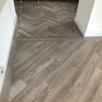 Karndean, Knight Tile, Grey Limed Oak supplied and installed by Arighi Bianchi