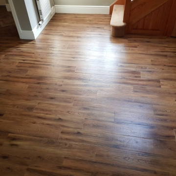 Karndean Morning Oak planks and parquet supplied and installed by Arighi Bianchi