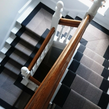 Roger Oates, Troy in charcoal supplied and installed by Michael John Carpets Leicester