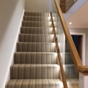 Mississippi Stripe WS119 Sand Willow supplied and installed by Justin2carpets&rugs Worcester