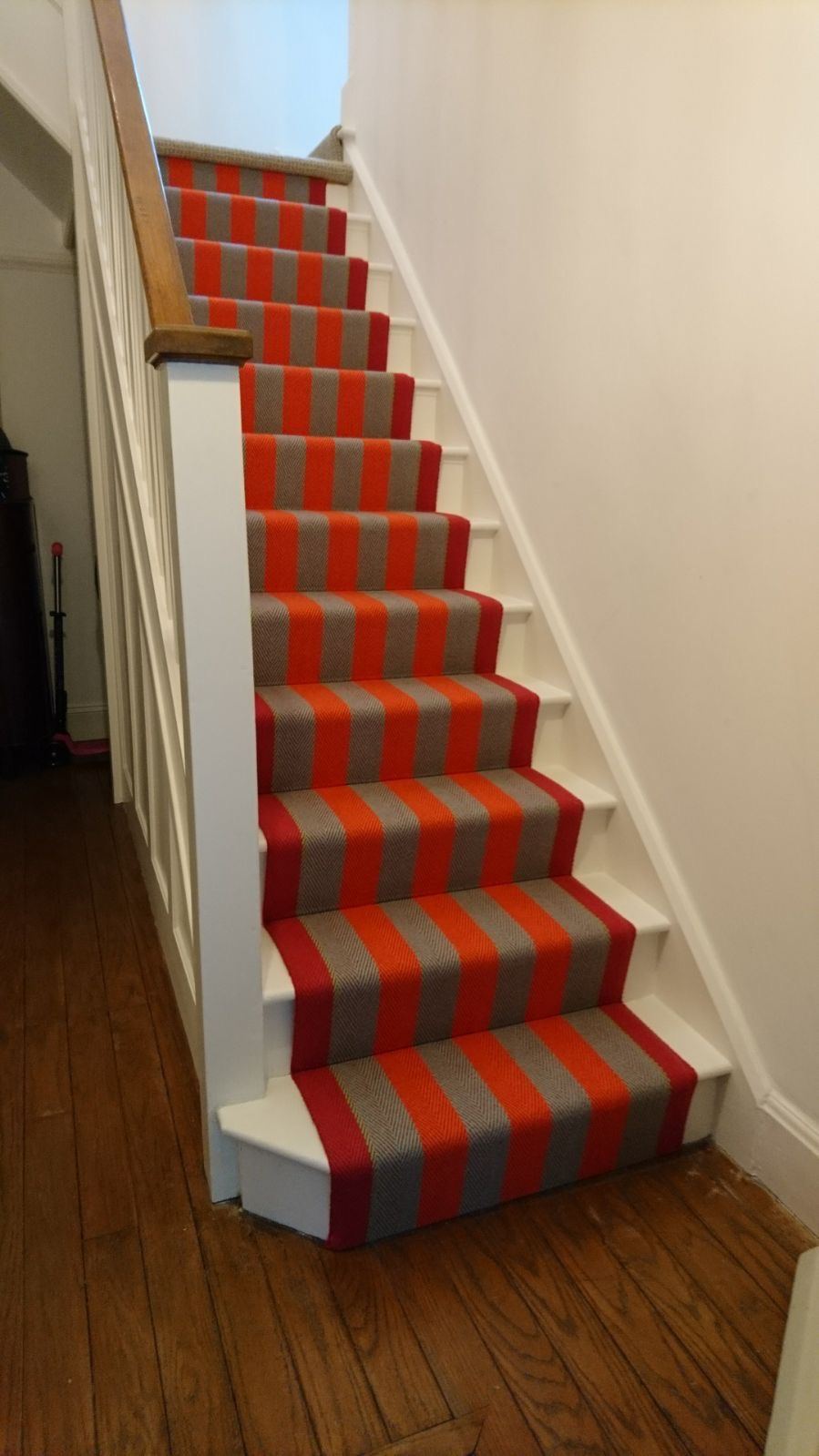 Roger Oates Fitzroy Bright Runner Installaion supplied and installed by Michael John Flooring Leicestershire