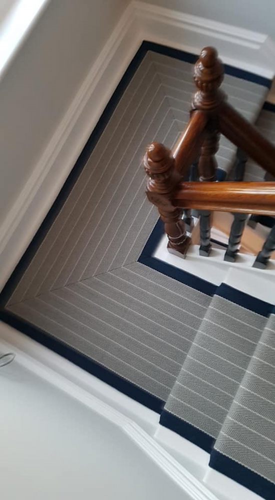 Roger Oates Dart Midnight supplied and installed by Sunniva Carpeting / Hoopers